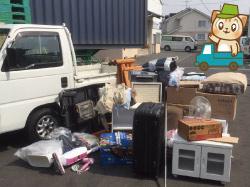 軽トラック積み放題で実際に回収した不用品の物量